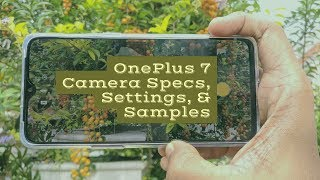 OnePlus 7 Camera Specs, Settings and Samples