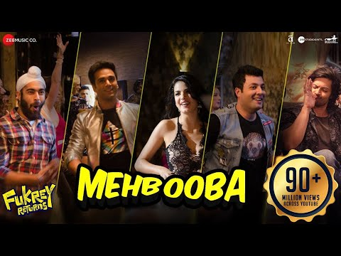 Mehbooba | Fukrey Returns |Prem&Hardeep | Mohammed Rafi, Neha Kakkar, Raftaar & Yasser Desai