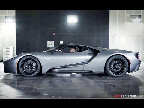 Car Design: 2017 Ford GT Wind Tunnel Testing