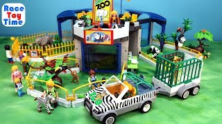 Playmobil Animals Zoo Building Playset For Kids - Fun Animal Toys Build and Play