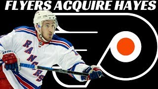 Philadelphia Flyers Acquire Kevin Hayes