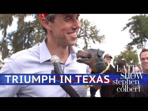 Triumph The Insult Comic Dog Meets Beto And Cruz