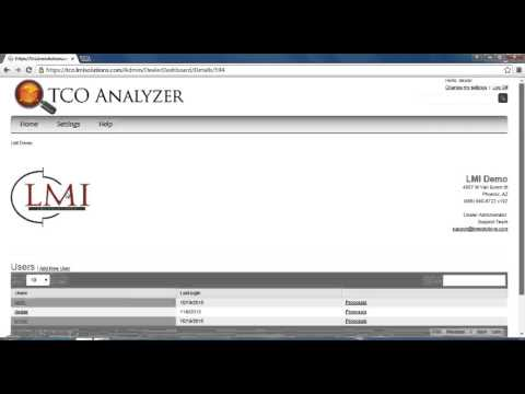 Edit Dealer | TCO Analyzer Training Video
