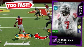 MICHAEL VICK IS TOO FAST FOR A QUARTERBACK! MADDEN 20 ULTIMATE TEAM