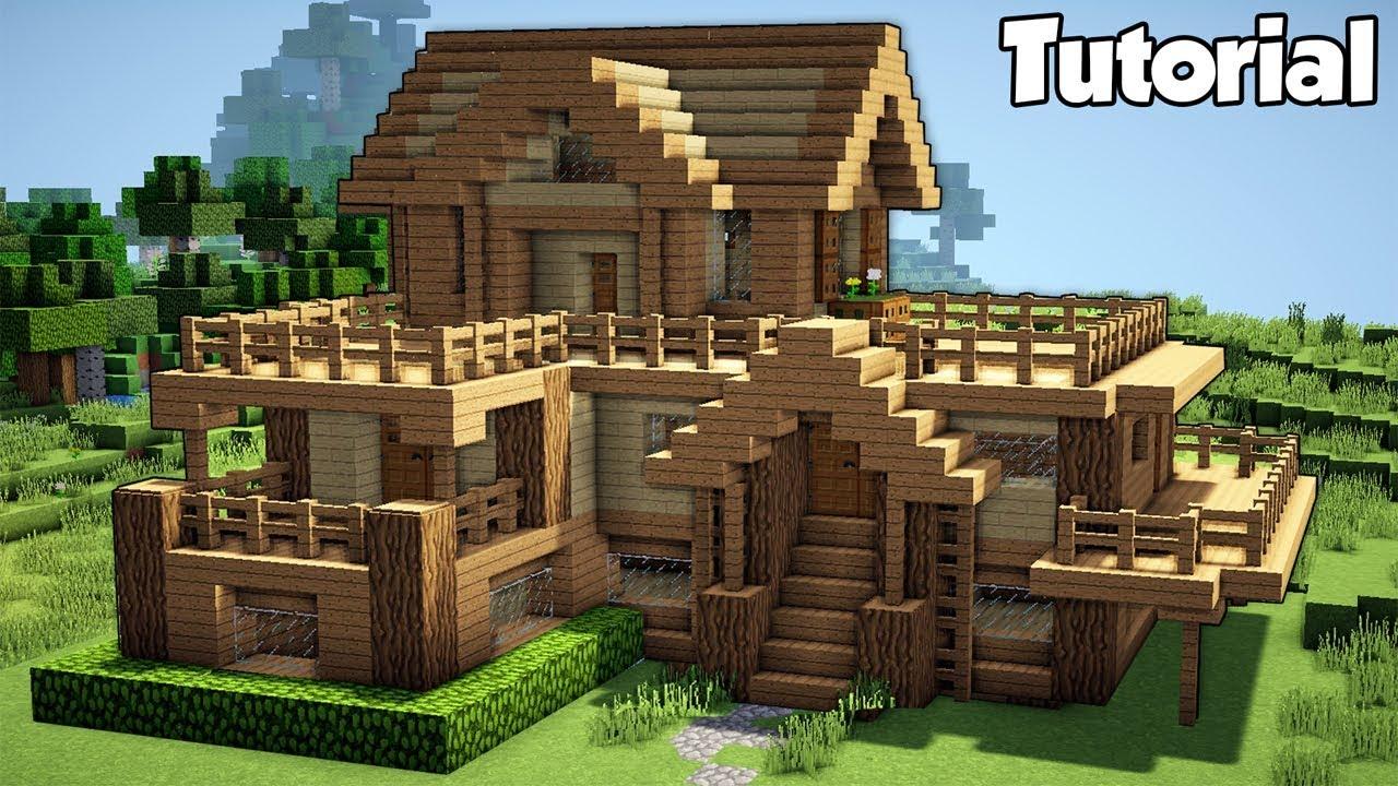 Tube Uz Minecraft Starter House Tutorial How To Build A House In Minecraft Easy Tube Uz