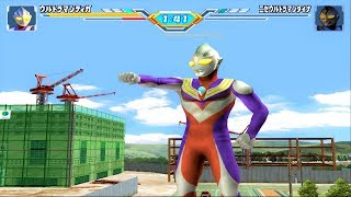 Sieu Nhan Game Play   Ultraman Tiga đánh bại tất cả các Ultraman bóng tối game ultraman Fe3