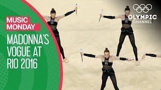 Ukrainian Rhythmic Gymnastics to Madonna's Vogue | Music Monday