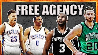 3 REALISTIC Free Agency Moves that Would CHANGE the NBA