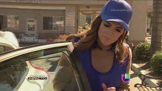 Pamela Silva Conde feliz de haber tenido una experiencia digna al lavar autos