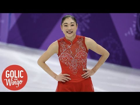 Foudy reports on Mirai Nagasu's historic triple axel at Winter Olympics | Golic and Wingo | ESPN