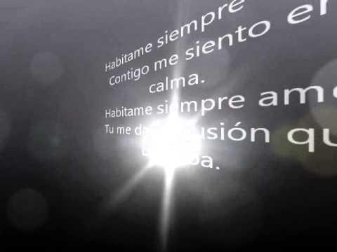 Thalia - Habitame Siempre (Letra)