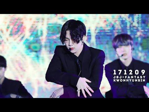 171209 안양 Cheer up for you 콘서트 JBJ - Fantasy (권현빈 FOCUS)