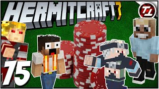 Stat Poker Rematch with Etho, BDubs, and Keralis! - Hermitcraft 7: #75