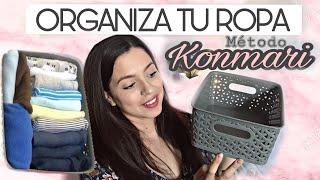 ✅Cómo Organizar Ropa de Bebé| Método KonMari | KonMari Method