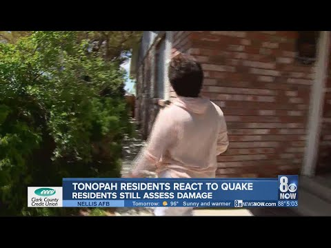 Tonopah residents react to 6.5-magnitude earthquake strikes Central Nevada