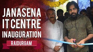 Watch: Pawan Kalyan inaugurating JSP IT Centre, Raidurgam..