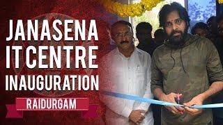 Watch: Pawan Kalyan inaugurating JSP IT Centre, Raidurgam..