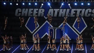 Cheer Athletics Panthers Blue Debut 2018-2019