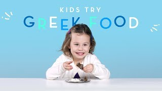Kids Try Greek Food | Kids Try | HiHo Kids