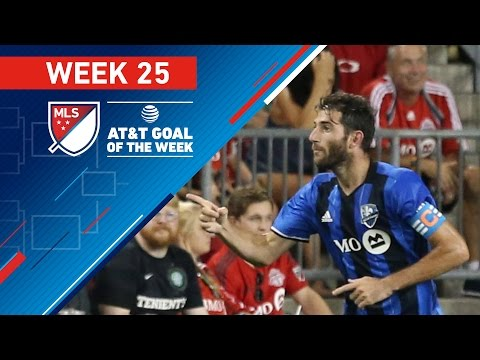 AT&T Goal of the Week | Vote for the Top 8 MLS Goals (Wk 25)