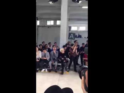 [FULL | Sohu Fashion] 160620 Taemin (태민) at Milan Fashion Week: Diesel Black Gold SS 2017