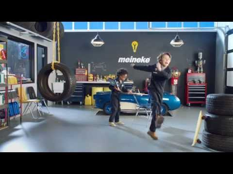"""Tire Test"" Commercial 2014 │ Kid Mechanics │ Meineke"