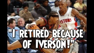 NBA Legends admitting that Iverson destroyed them