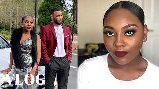 Slayed my nieces makeup for prom | Atlanta Daily Vlogs