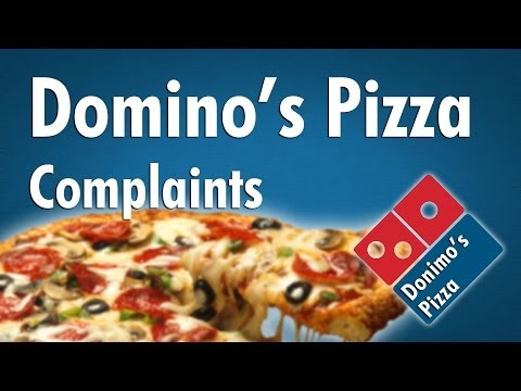 Comments On The Australian Domino's Pizza Facebook