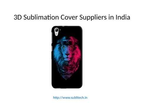 Sublimation Products Supplier In India