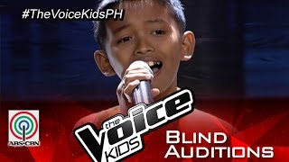 "The Voice Kids Philippines 2015 Blind Audition: ""Lipad Ng Pangarap"" by Joshua"