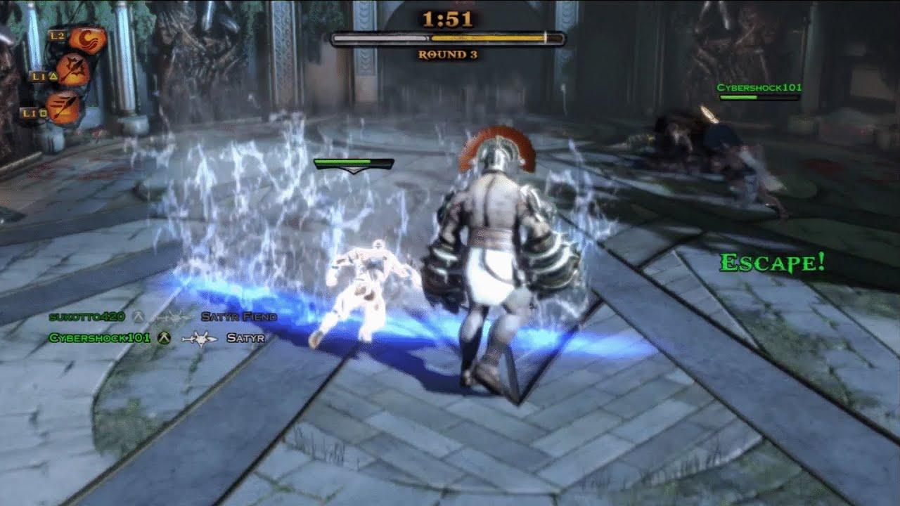 God of War: Ascension - Multiplayer - Trial of the Gods ...