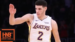 """Lonzo Ball (11 pts, 16 reb, 11 ast) """"BUST Mode"""" Highlights vs Nuggets / LA Lakers vs Nuggets"""