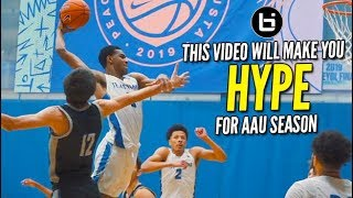 This Video Will Get You Hype For AAU Season! Basketball Motivation Top Plays!