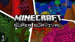 Minecraft: Super Modded Survival Ep. 1 - A DANGEROUS LAND