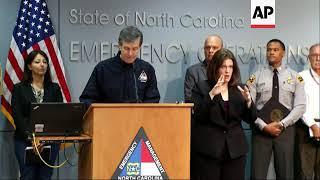 North Carolina governor says Florence 'wreaking havoc'