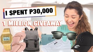 Buying Everything In Alphabetical Order [ONE MILLION GIVEAWAY]
