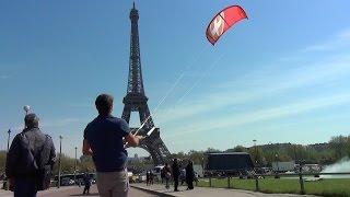 Kitesurf in Paris - Antoine Auriol