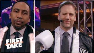 First Take debates Deontay Wilder vs. Tyson Fury II