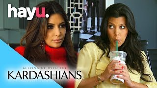 Kourtney & Kim Clash Over Dash | Keeping Up With The Kardashians