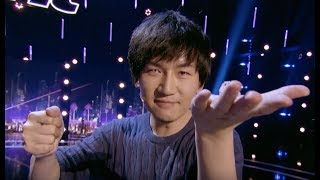 Will Tsai Brings Another Unbelievable Close Up Magic Tricks | Judge Cut 4 | America's Got Talent 201