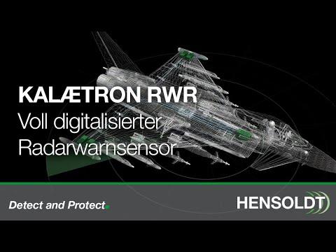 Kalaetron Radarwarn-Sensor von HENSOLDT