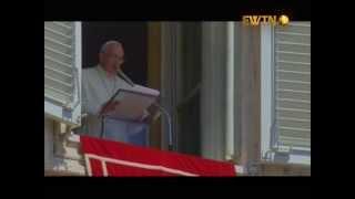 """Молитва """"Царице Неба"""" з Папою Франциском"""