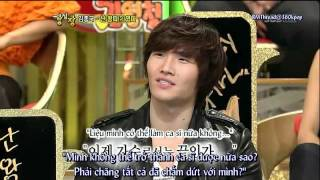 [Vietsub] Strong Heart Kim Jong Kook cut - I Was A Loner