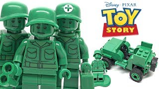 LEGO Toy Story Army Men on Patrol review! 2010 set 7595!