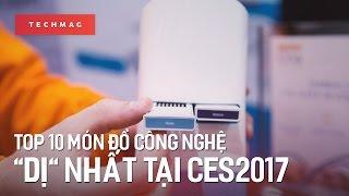 TechBack: Top 10 món đồ công nghệ dị nhất tại CES 2017