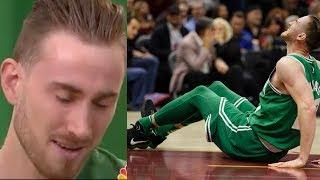 Gordon Hayward BREAKS DOWN into Tears Talking About Leg Injury