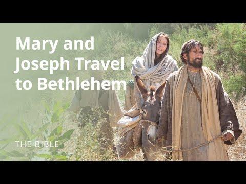 Mary and Joseph Travel to Bethlehem