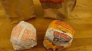 McDonald's vs. Burger King - CHEESEBURGER