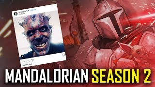THE MANDALORIAN SEASON 2 Everything We Know | Release Date, Baby Yoda & Boba Fett Darth Maul Theory